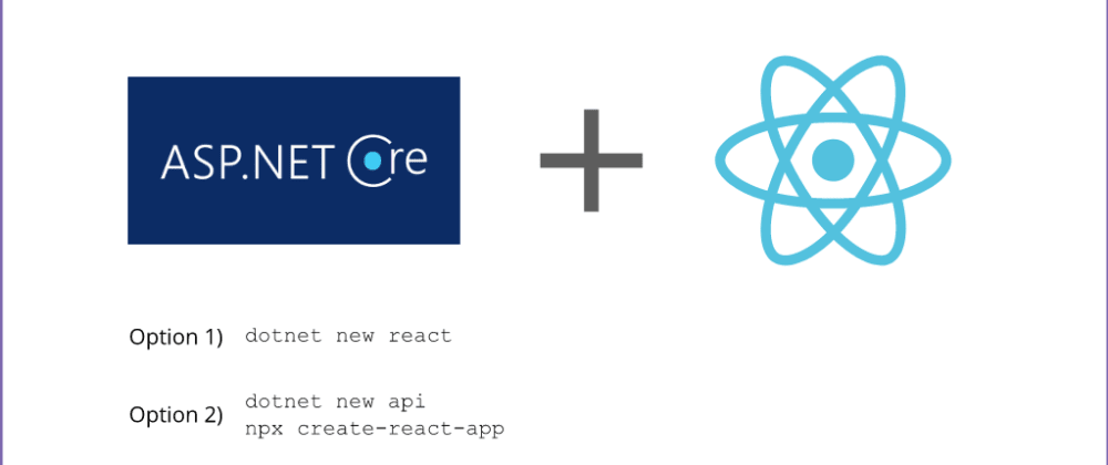 Cover image for Best way to spin up a React plus ASP.NET Core Web API Application?