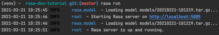 Server is running