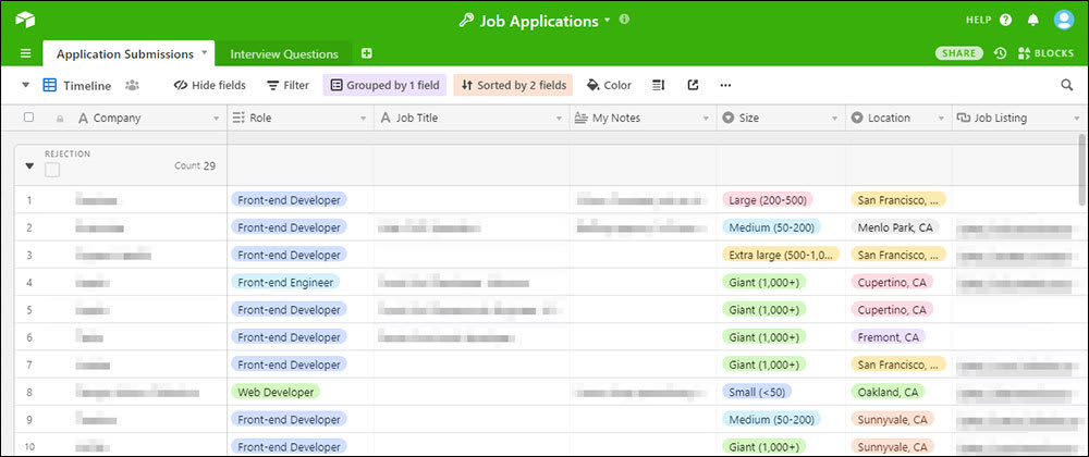 Cover image for Organizing Your Job Search with Airtable