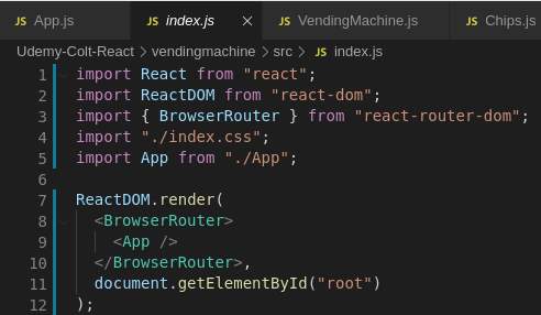 Using React Router: A Simple Example - DEV Community