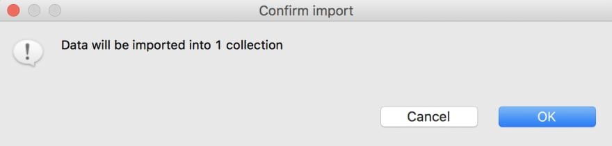Import SQL data to one collection