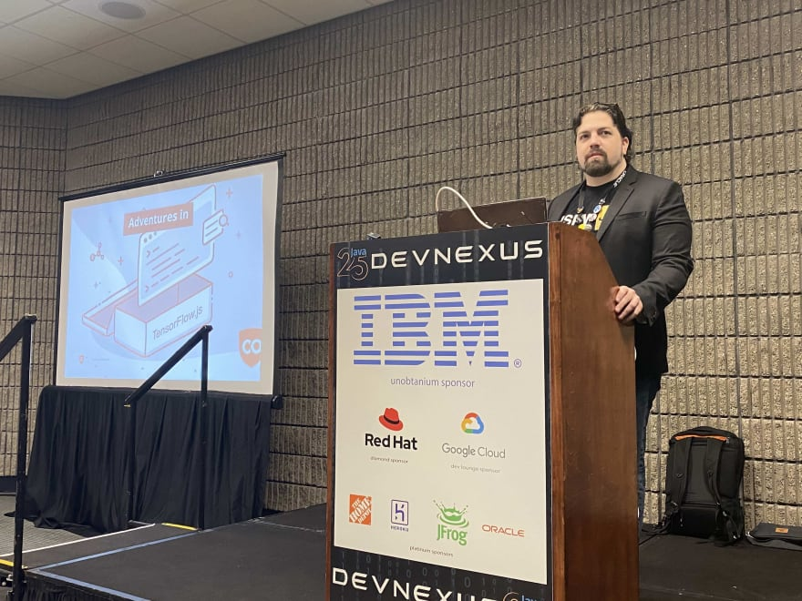 Gant Laborde presents at DevNexus 2020
