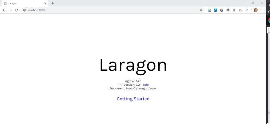 LaragonXdebugPhpinfo