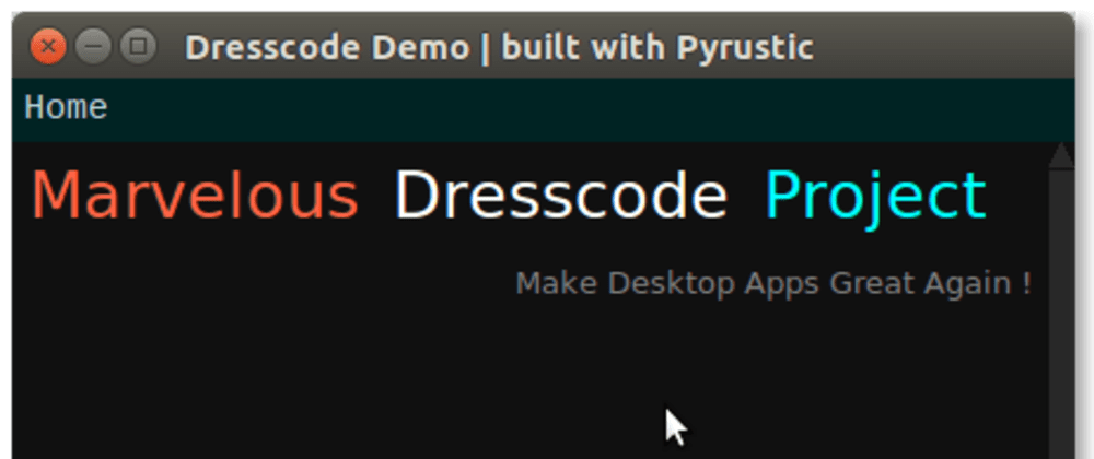 Cover image for Dresscode – Dress up your code with a beautiful GUI