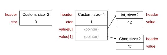 Custom type structures