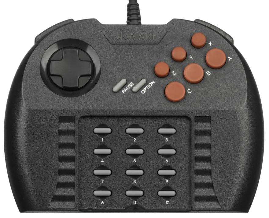 Atari Jaguar controller