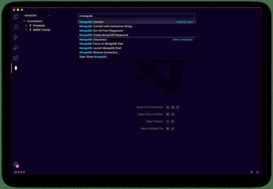 MongoDB commands