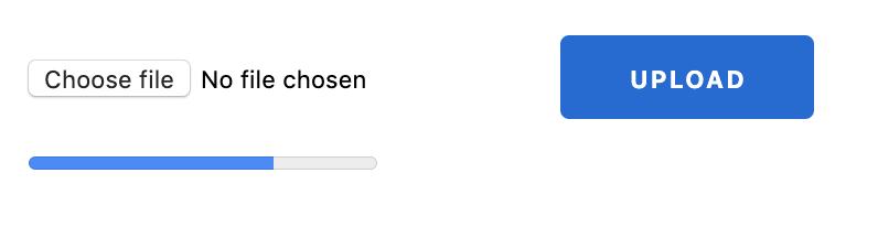 HTM5 progress bar