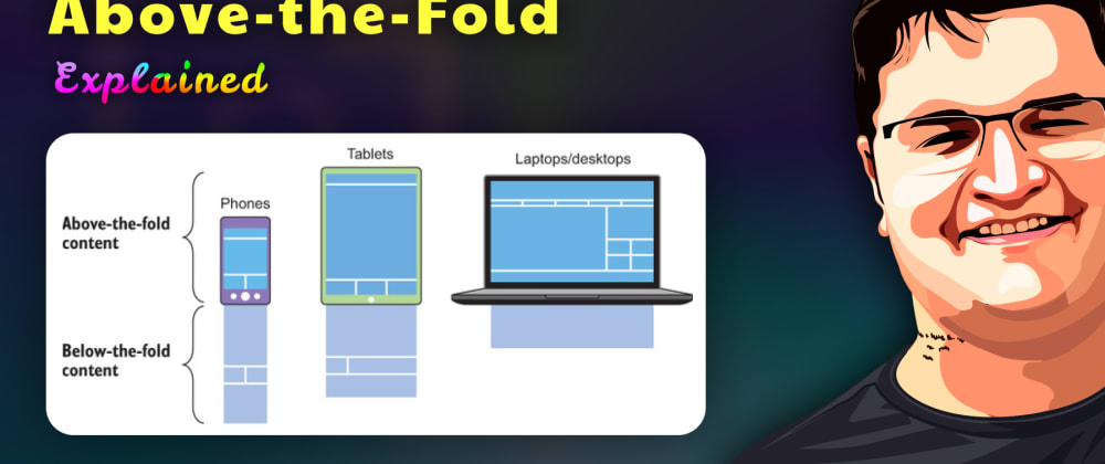 """Cover image for How to improve the Critical Path CSS on web using the """"Above-The-Fold"""" strategy?"""