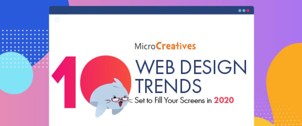 Cover image for 10 Web Design Trends 2020