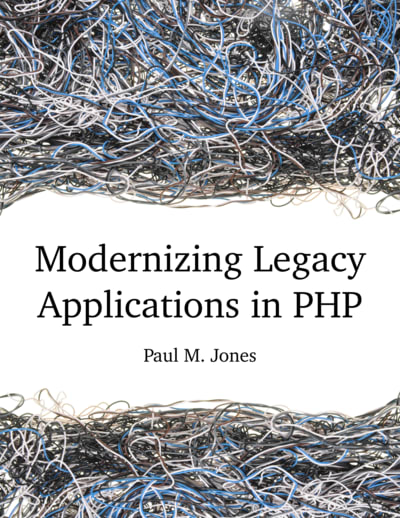 Modernizing Legacy applications with PHP book cover
