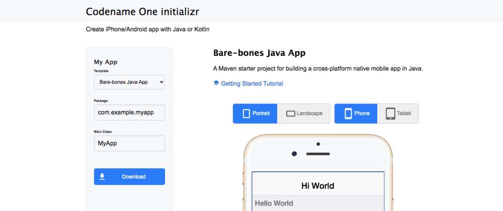 Cover image for Online Tool to Generate iOS/Android Starter Project