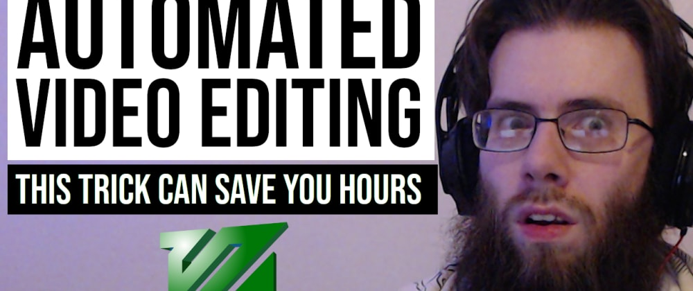 Cover image for Save yourself hours of editing when working with recordings of work (art, coding, etc)