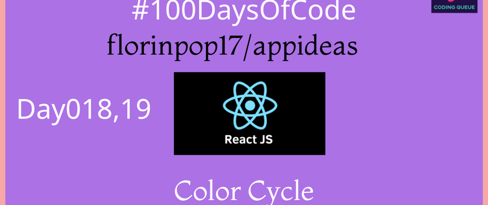 Cover image for Color Cycle in ReactJs