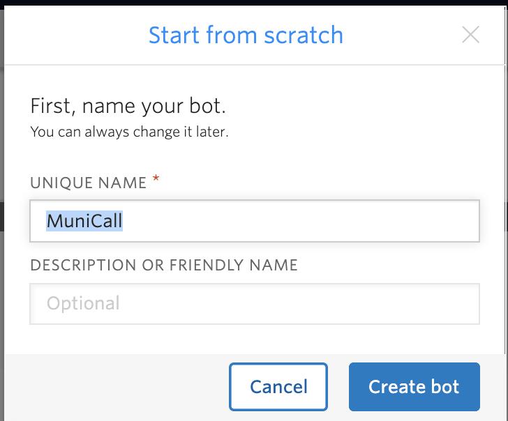 unique name button