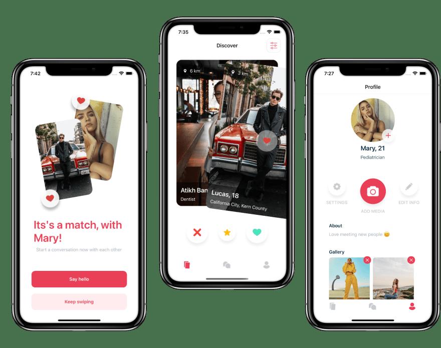 React Native Dating app