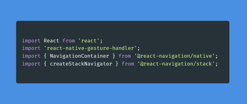 Cover image for Learn about Navigators in React Native.