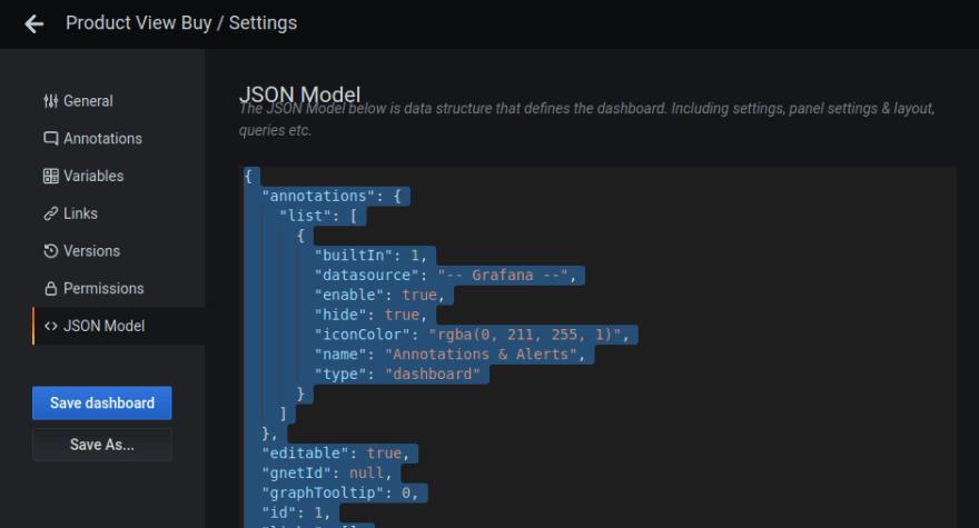 grafana-json-model-copy