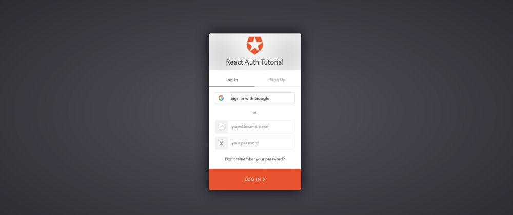 Cover image for Adding Authentication to a React App with Auth0
