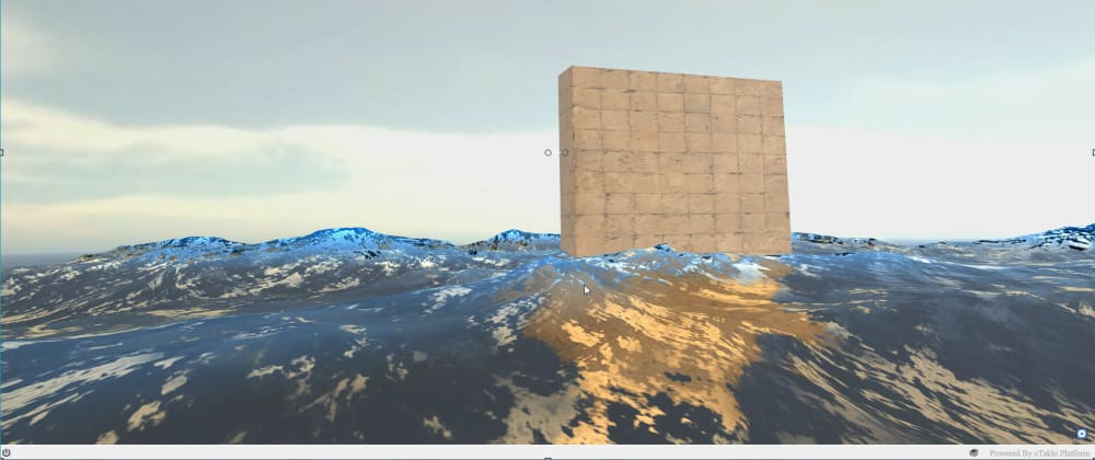 Cover image for Add Water Surface Simulation to your Web Page in 90 lines of Javascript or less