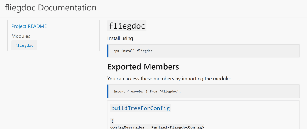 Cover image for And so, I wrote my own Typescript Documentation Generator...