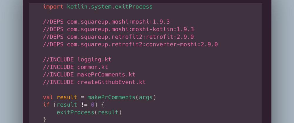 Cover image for I wrote a GitHub Action using Kotlin