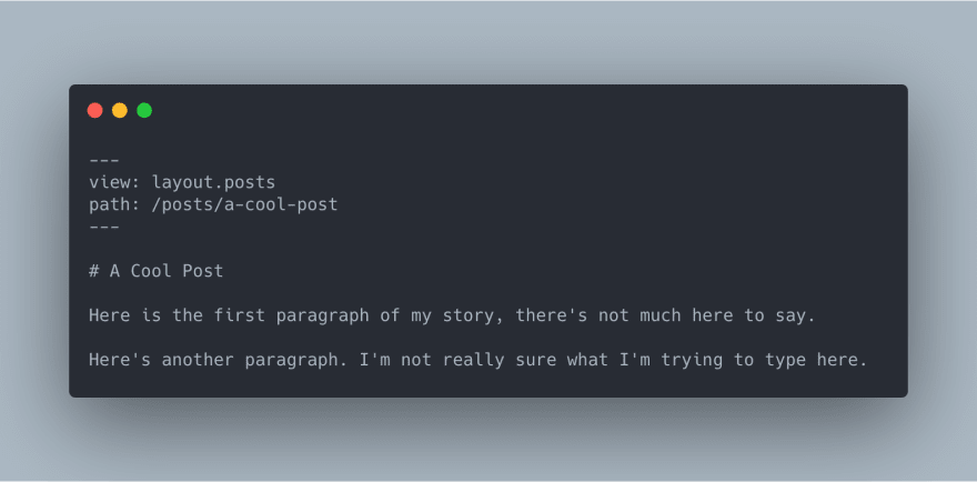 A Markdown content file example