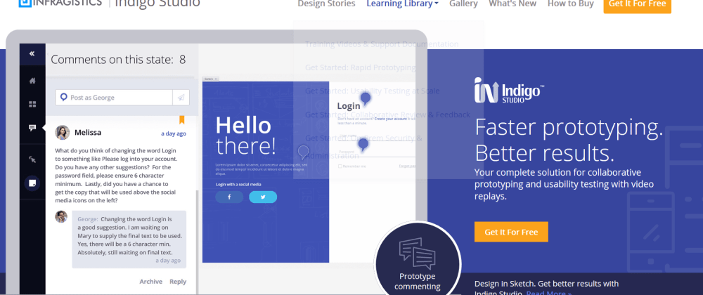 Cover image for First impression of Indigo Studio. The best way to bring UX to your application!!