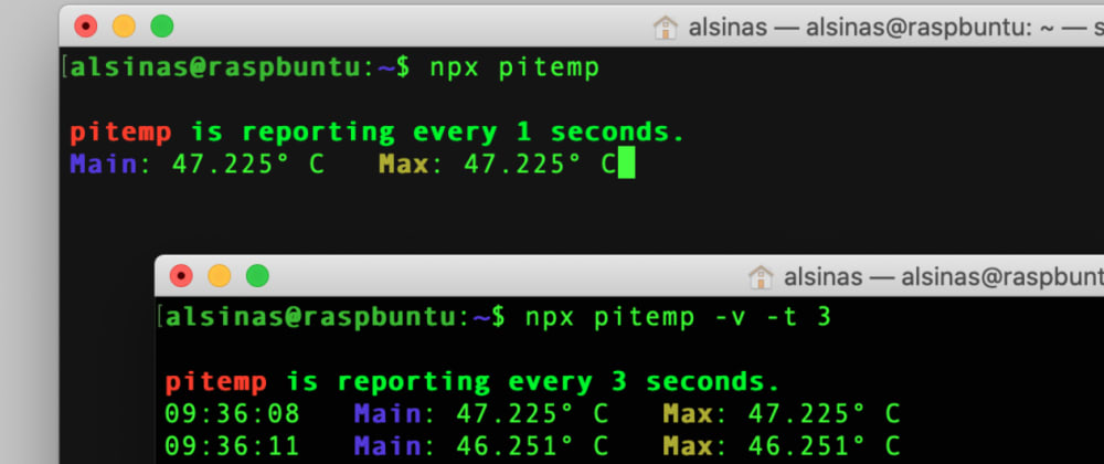 Cover image for Check the temperature of your Raspberry Pi on any OS with `pitemp`