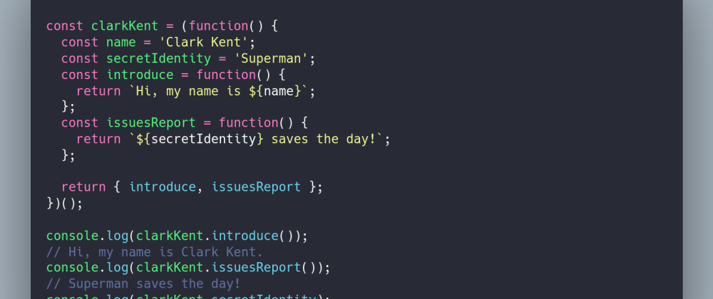 Cover image for The Revealing Module Pattern in JavaScript