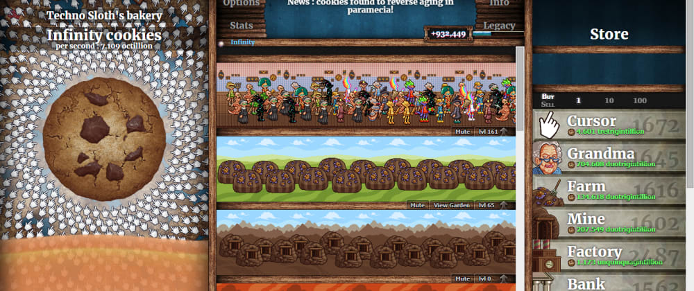 Cover image for How to hack Cookie Clicker for beginners.