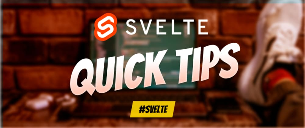 Cover image for 🚀 Svelte Quick Tip: Connect a store to local storage