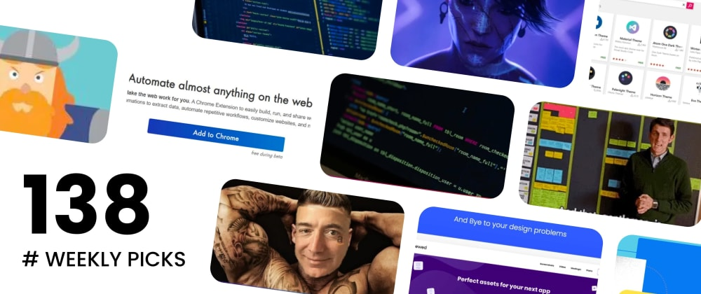 Cover image for 🏆 Best of Web Development - Weekly Picks #138