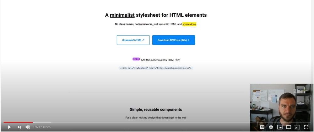 Cover image for Validate your startup idea with MVP.css