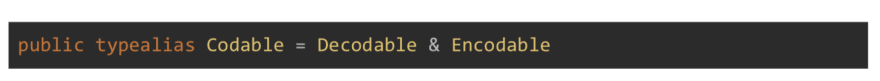 Encodable and Decodable protocols