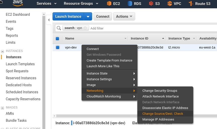 OpenVPN: OpenVPN Access Server set up and AWS VPC peering