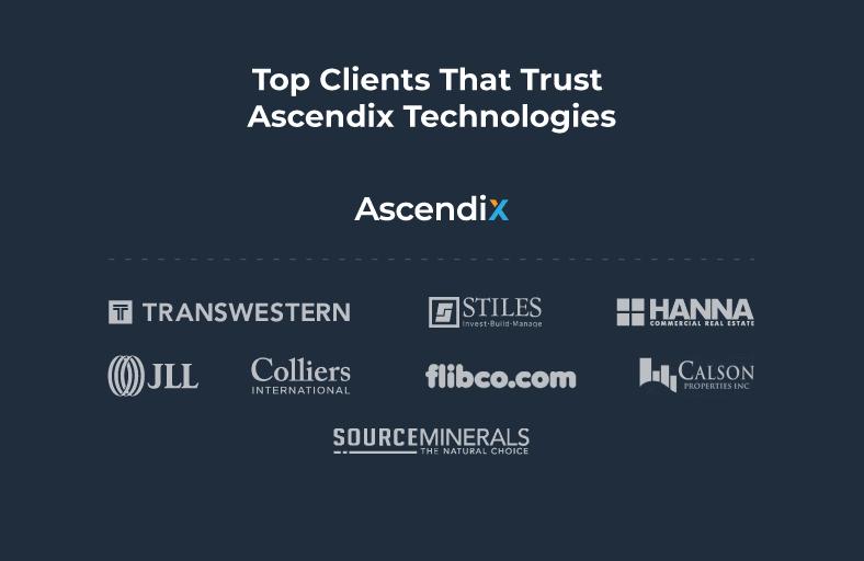 Top Clients That Trust Ascendix Technologies