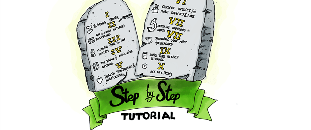 Cover image for Introducing Netdata's step-by-step tutorial