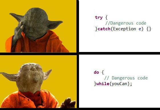 Be the Yoda