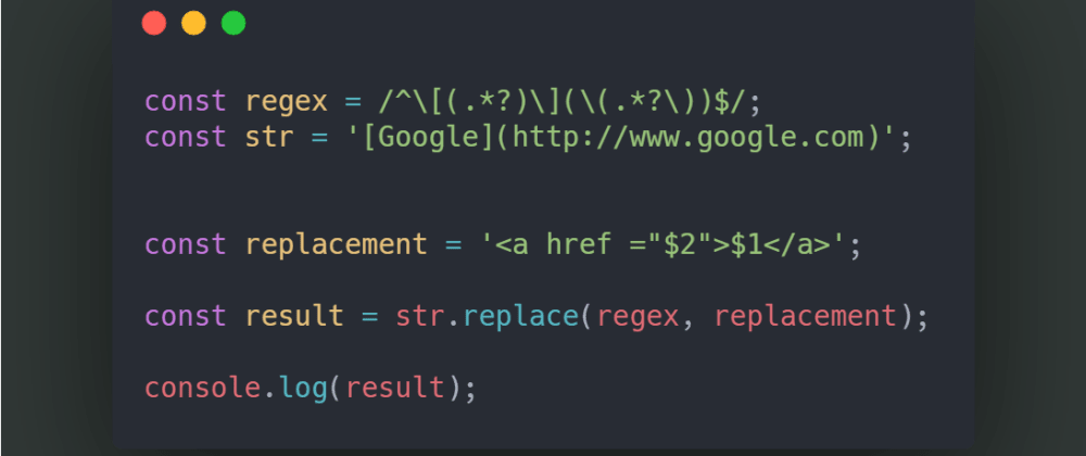 Cover image for Basic RegEx in Javascript for beginners 🔥