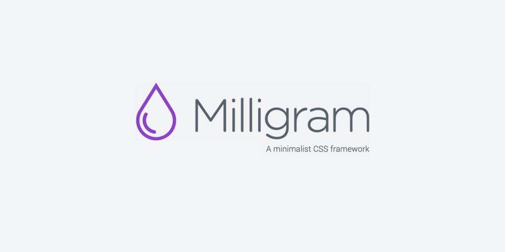 Introducing Milligram - DEV Community