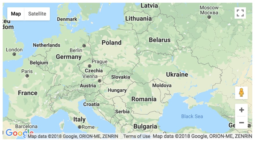 Map Of Germany Google.How To Use The Google Map Web Component Dev Community