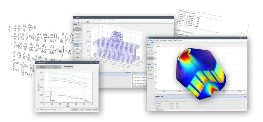 FEATool Multiphysics MATLAB Physics Simulation Toolbox