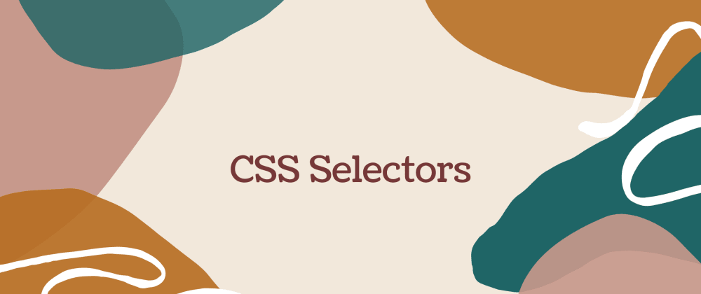 Cover image for CSS Selectors