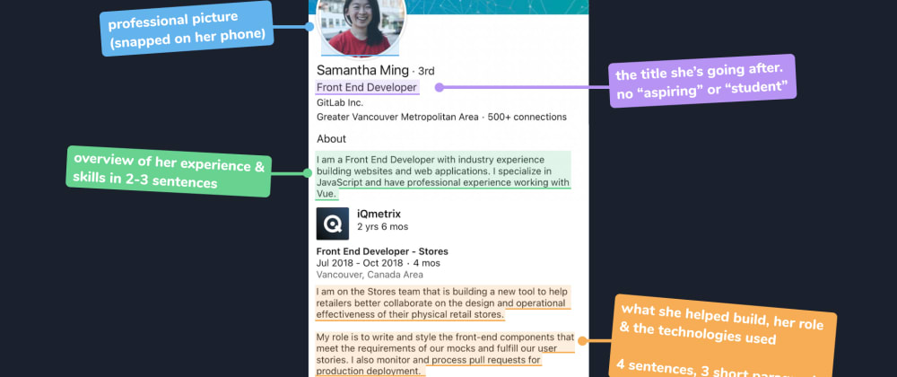 Cover image for How Samantha Ming lands developer jobs without applying