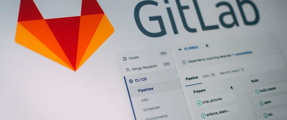 Cover image for Git commits from GitLab CI