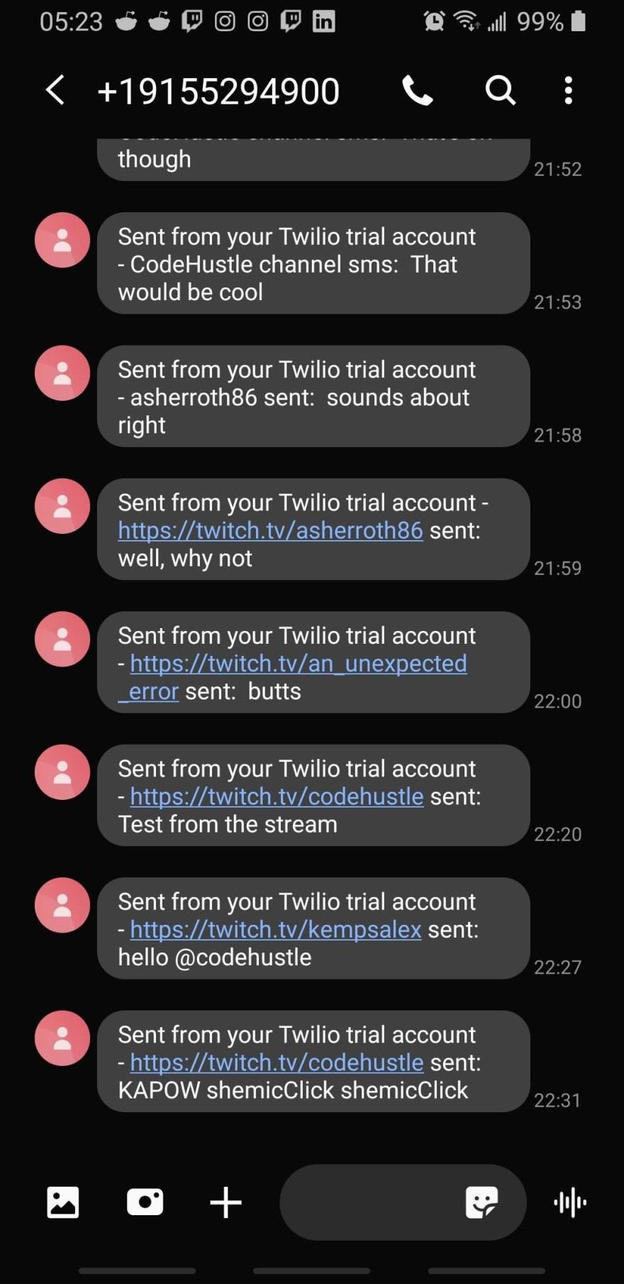 SMS Success