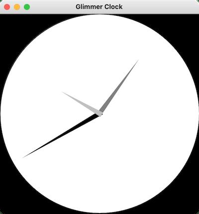 Glimmer Clock