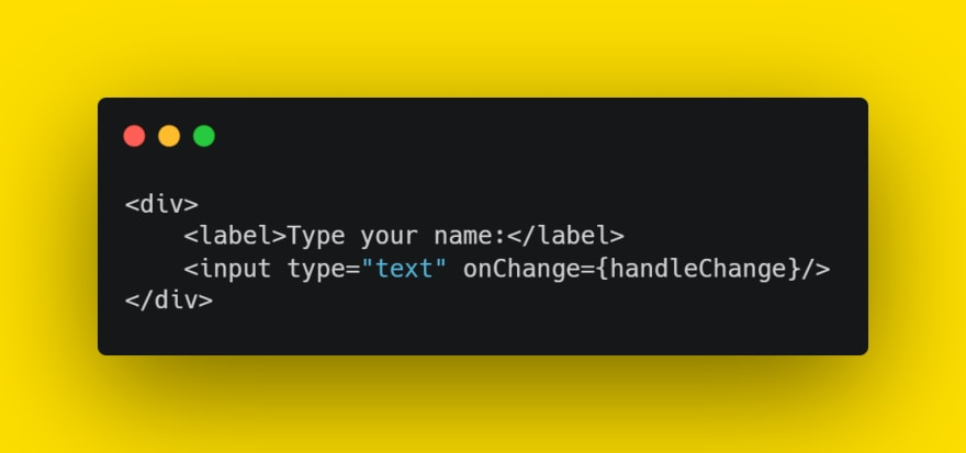 add onChange to input tags
