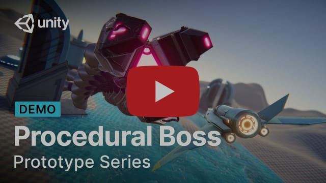 Creating a boss with procedural animation | Prototype Series